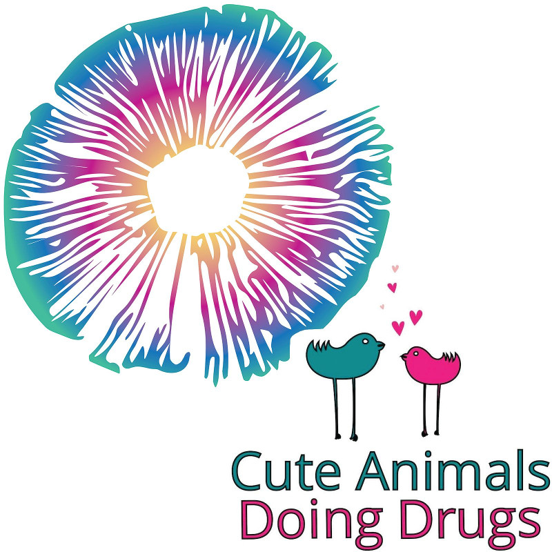 Cute Animals Doing Drugs Banner
